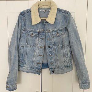 Rebecca Minkoff Clark Faux Shearling Jacket